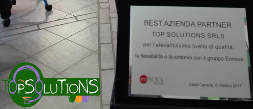 ennova premio top solutions miglio azienda partner