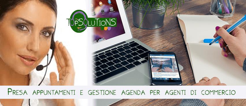 servizi gestione agenda agenti di commercio top solutions torino call center