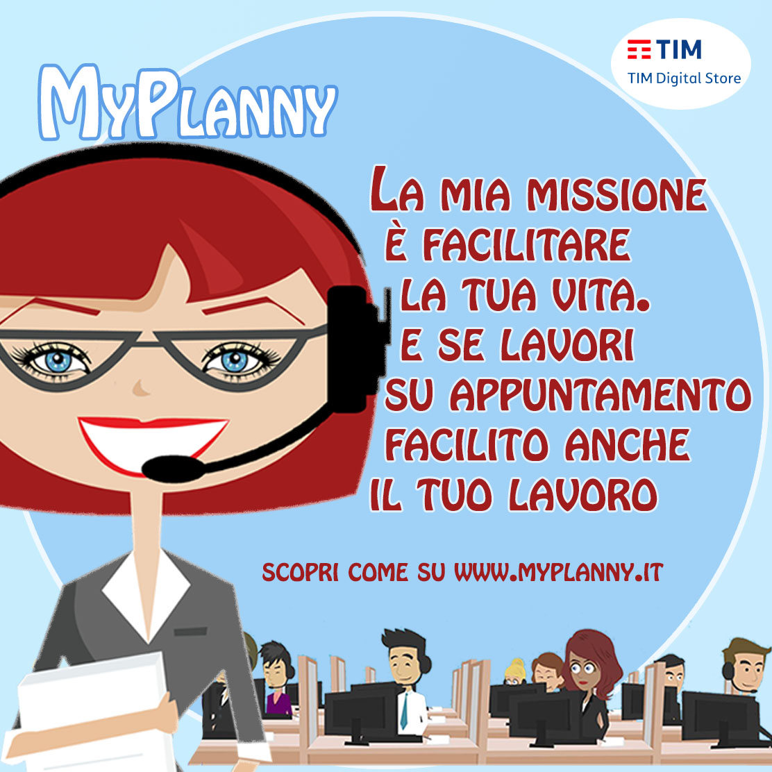 MyPlanny prodotto ICT by Top Solutions agenda online app e segretaria virtuale