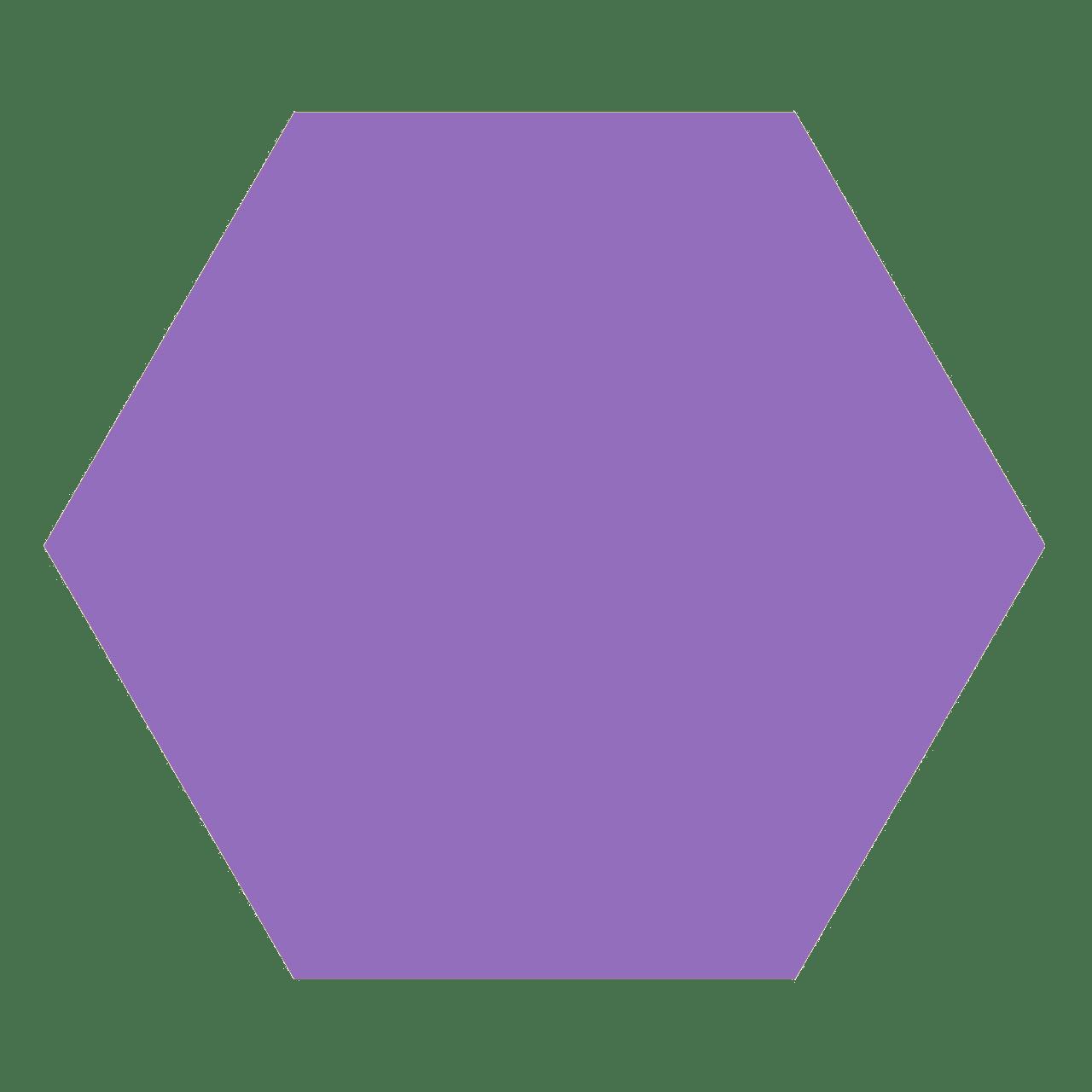 esagono violet