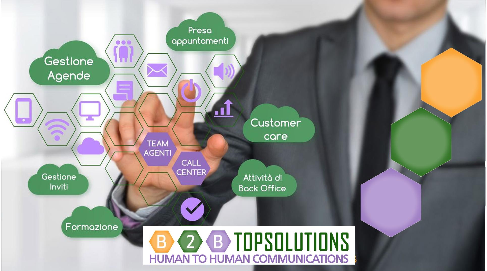 servizi b2b telemarketing presa appuntamenti listino prezzi top solutions torino call center telefonia energia