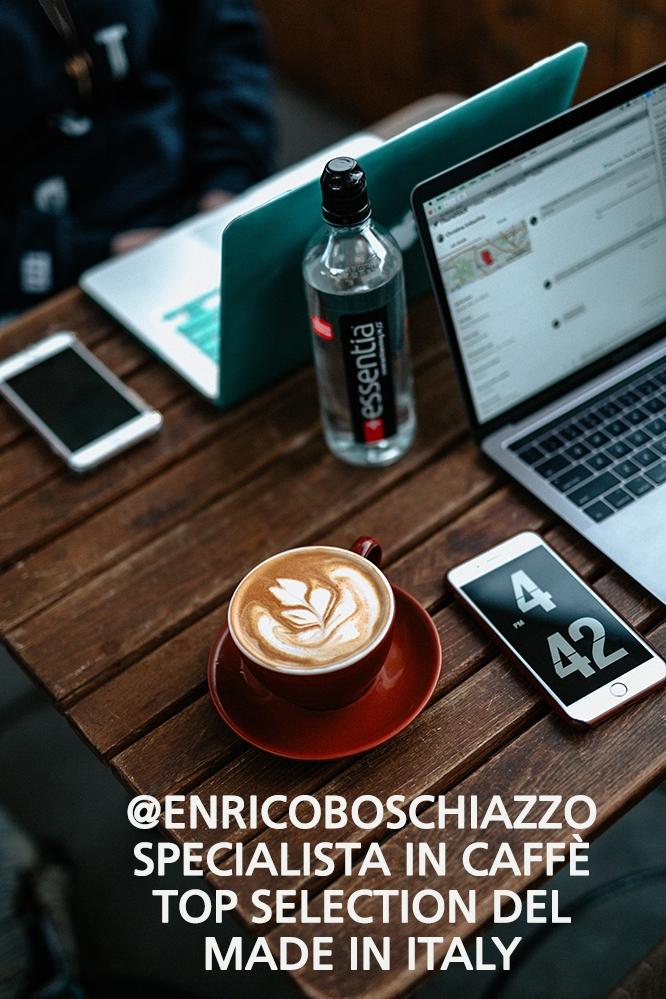 il caffè top quality made in italy di enrico boschiazzo top solutions torino
