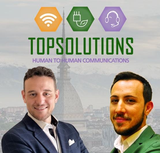 top solutions torino chi siamo francesco di pierro ceo davide angioni co funder call center telemarketing lead generation torino